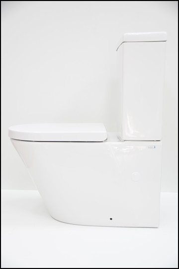 Inodoro con tanque Alba Plus lateral